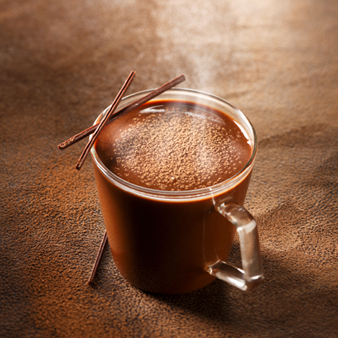 Recette culinaire : chocolat chaud gourmand