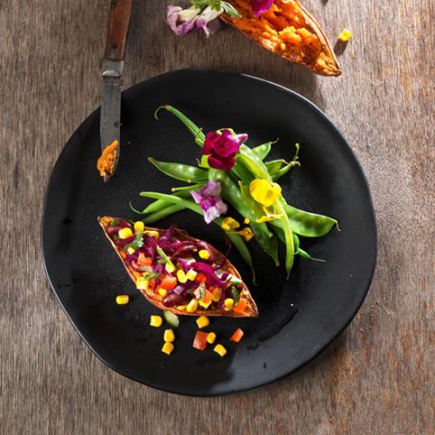 Recette culinaire : Merlu rôti au citron et cébette