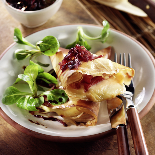 Recette culinaire : croustade au Beaufort
