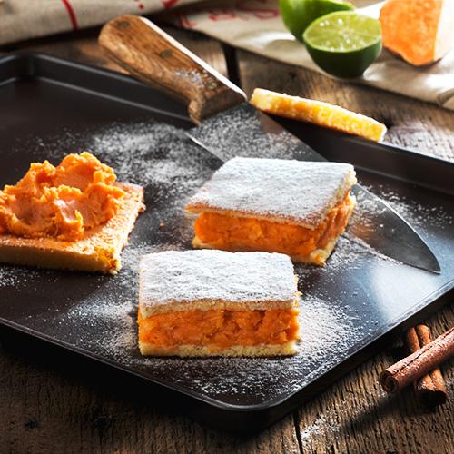 Recette culinaire : cake à la patate douces