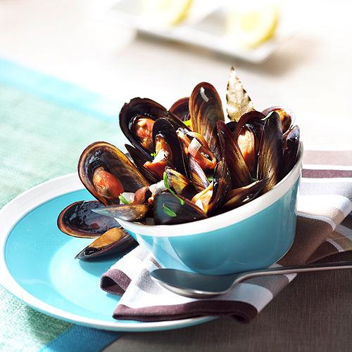 Recette culinaire : moules marinières